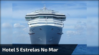 Hotel 5 Estrelas No Mar, Um Dos Maiores Navios Que Vai Ver Hoje!