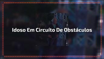 Idoso Consegue Terminar Percurso Em Circuíto De Obstáculos!