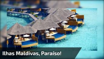 Ilhas Maldivas - Um Lugar Impressionante Para Passar As Férias!