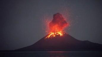 Imagens De Um Vulcão Em Erupção, Veja Que Imagens Impressionantes!