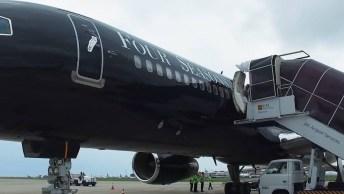 Imagina Viajar O Mundo Todo Com Um Avião De Primeira Classe?