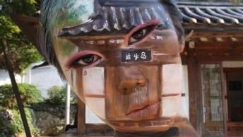 Impressionante Artista Que Pinta Em Seu Próprio Rosto, Confira!