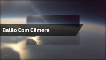 Impressionante Balão Meteorológico Subiu 33. 000 Metros Com Câmera!