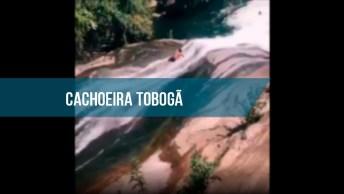 Impressionante Cachoeira Que Parece Um Toboágua, Olha Só Que Magnifico!