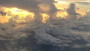 Impressionante Céu Visto De Dentro De Uma Avião, Confira Que Lindas Imagens!