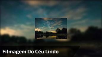 Impressionante Filmagem Do Céu Em Câmera Rápida, Vale A Pena Conferir!