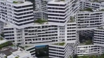 Impressionante Prédio Em Cingapura, Veja Que Espetáculo De Engenharia!