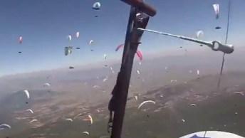 Impressionante Quantidade De Paraquedas No Céu, Veja Que Lindo!