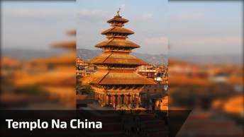 Impressionante Templo Na China, Veja O Tamanho Deste Lugar!