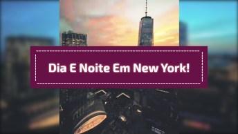 Impressionante Vídeo Mostrando Em Câmera Rápido O Passar Do Dia Em New York!