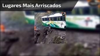 Lugares Mais Arriscados Para Passar Com Ônibus Cheio De Pessoas!