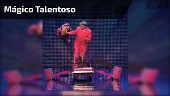 Mágico Faz Apresentação Impressionante Em Show De Talentos!