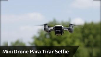 Mini Drone Para Tirar Selfie, Veja Como Ele É Pequenininho!