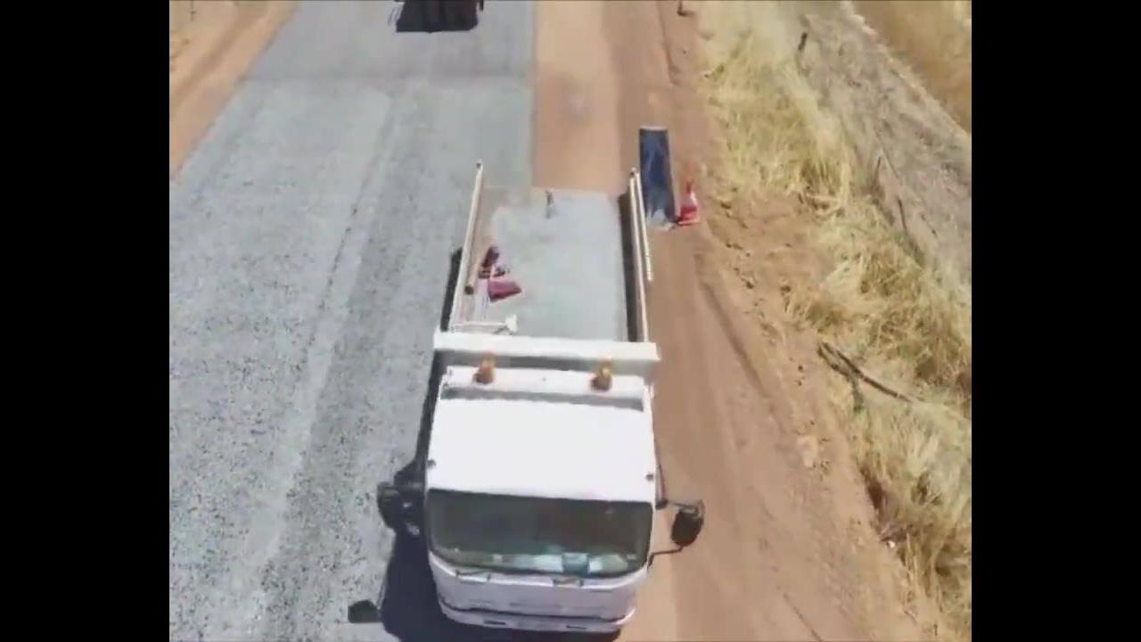 Nova forma que esta sendo usada para asfaltamento de rodovias