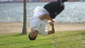 Pessoas Dando Saltos Incríveis, Inacreditáveis O Que Eles Fazem!