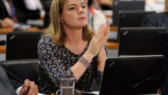 Senadora Gleisi Hoffmann Desabafando Sobre Ajuste Fiscal, Confira!