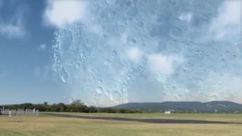 Veja Como Seria Se A Lua Estivesse A 400 Km Da Terra, Impressionante!