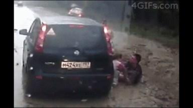 Vídeo Impressionante De Acidentes Que Poderiam Ser Fatais!