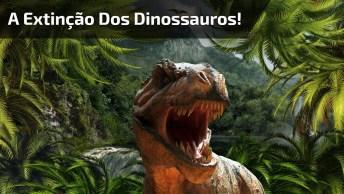 Vídeo Impressionante Mostrando Simulação Da Extinção Dos Dinossauros!