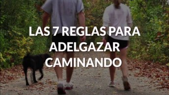 7 Regras Para Emagrecer Caminhando, Lembrando Que Caminhar Tem Muito Benefício!