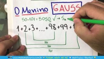 A História Do Menino Gauss, Super Interessante, Confira!