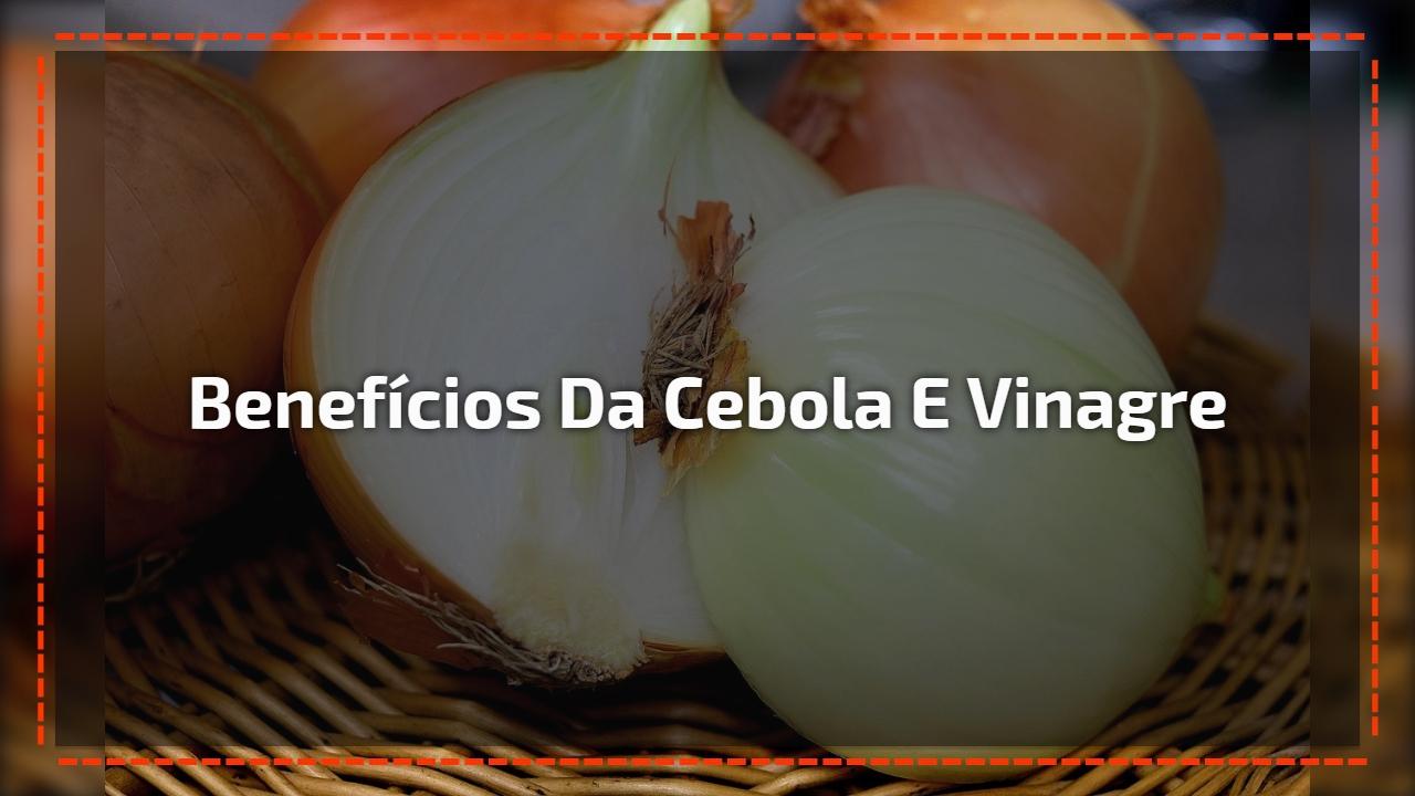 Benefícios maravilhosos da cebola no vinagre, vale a pena conferir!!!