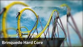 Brinquedo Hard Core Em Parque De Diversão, Compartilhe Se Tiver Coragem. . .
