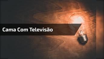 Cama Com Televisão Que Sai De Baixo Dela, Olha Só Que Interessante!