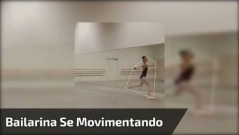 Captando Movimentos De Uma Bailarina, Veja Que Interessante!