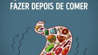 Interessante Este Vídeo, Veja 5 Coisas Que Você Não Deve Fazer Depois De Comer!