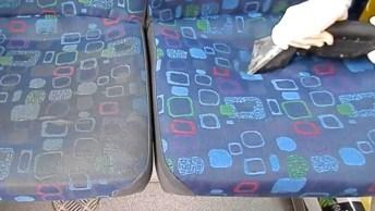 Limpeza Em Banco De Ônibus Fantástica, Vale A Pena Conferir!