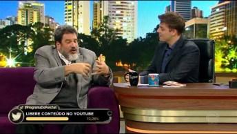 Mario Sergio Cortella Em Um Programa De Televisão, Veja Que Legal Sua Avaliação!
