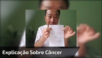 Médico Falando Sobre O Câncer, Vale A Pena Conferir Com Bastante Atenção!