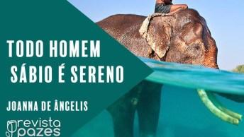 Mensagem Sobre Serenidade Por Joanna De Angelis 'Todo Homem Sábio É Sereno'!