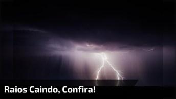 O Brasil É País Onde Mais Cai Raio No Mundo, Veja Essa Imagem Impressionante!