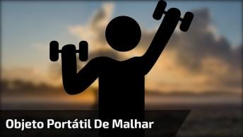 Objeto Para Malhar, Vale A Pena Conferir, É Muito Interessante!