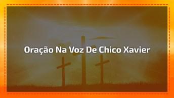 Oração Na Voz De Chico Xavier, Envie Através Do Whatsapp!