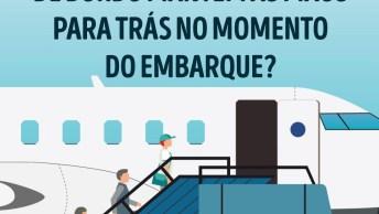 Por Que As Comissárias De Bordo Mantém As Mãos Para Trás No Embarque?