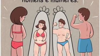 Principais Diferenças Entre Homens E Mulheres, Muito Interessante!