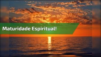 Silvio Matos Falando Sobre A Maturidade Espiritual, Vale A Pena Conferir!
