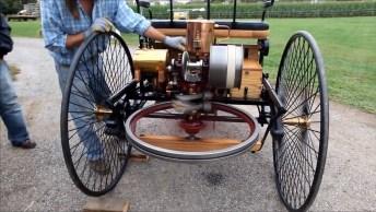 Triciclo Com Motor, Por Essa Você Não Esperava Hein, De 1886!