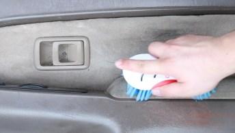 Tutorial De Misturinha Caseira Para Limpar A Parte Interna Do Carro, Confira!