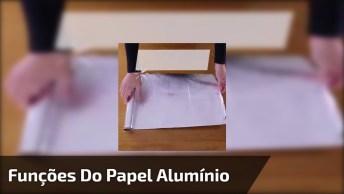 Utilidades Do Papel Alumínio Que Você Nem Imaginava, Confira E Compartilhe!