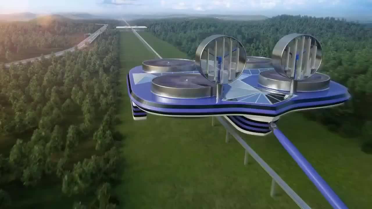 Veja que incrível esse projeto de transporte