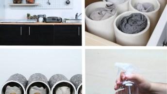 Vídeo Com Dicas Infalíveis Para Você Deixar Sua Casa Limpa E Organizada!