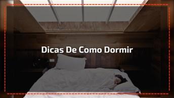 Vídeo Interessante Sobre Como Dormir Para Resolver Problemas De Saúde!