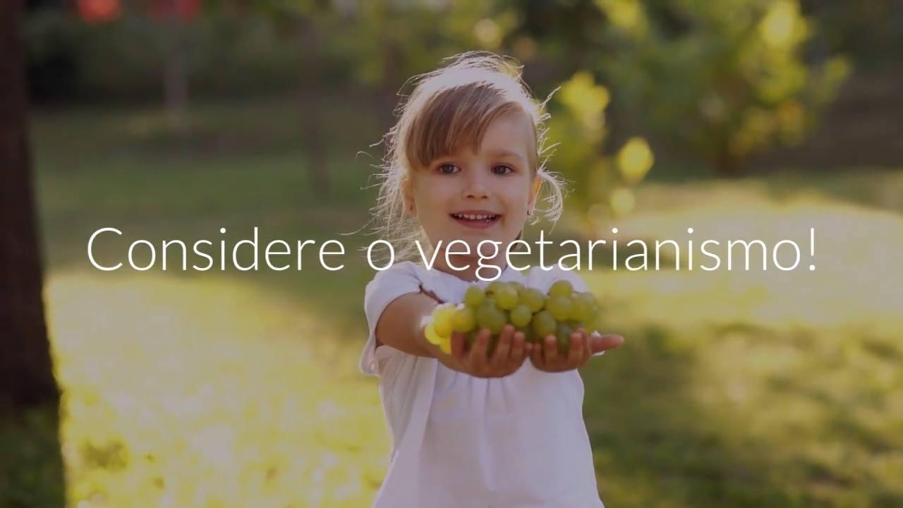Vídeo que vai fazer você repensar sobre o vegetarianismo