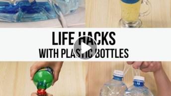 5 Ideias Legais Para Fazer Com Garrafas Plásticas, Confira E Compartilhe!