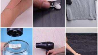 6 Ideias Incríveis Para Fazer Com Seu Secador De Cabelo, Confira!