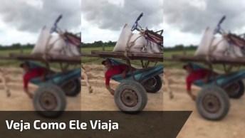 A Crise Não Chegou No Maranhão, Veja Como Eles Viajam Por Lá!